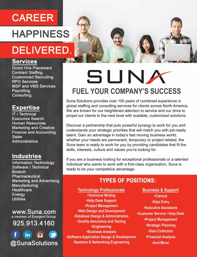 Suna Solutions Company Information